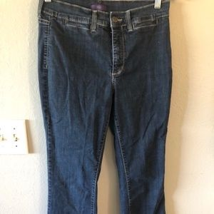 NYDJ Dark Wash Size 6 Lift and Tuck Made in USA